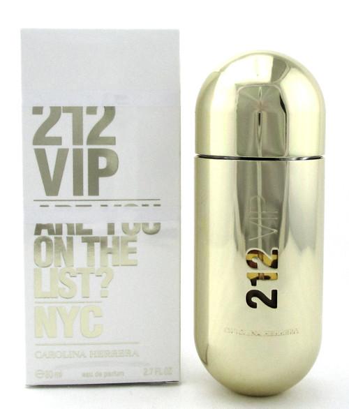212 VIP by Carolina Herrera 2.7 oz. EDP Spray for Women. New Damaged Box
