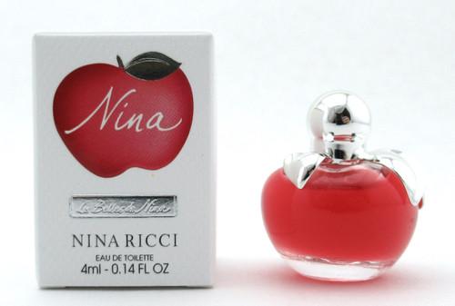 Nina by Ricci Nina Eau De Toilette MINI Splash 4 ml./ 0.14 oz. Brand New
