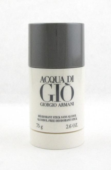 Acqua Di Gio by Giorgio Armani 2.6 oz Alcohol Free Deo.Stick for Men New Sealed