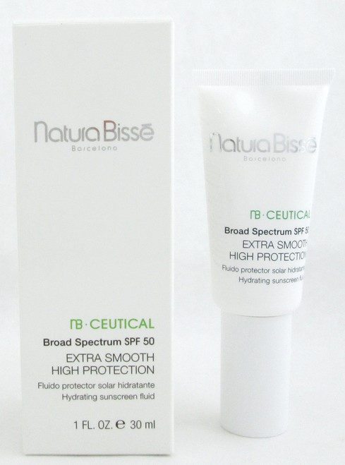Natura Bisse NB Ceutical SPF 50 Extra Smooth High Protection 1.0 oz/ 30 ml NIB