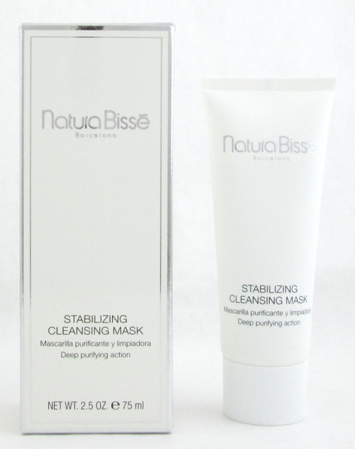Natura Bisse Stabilizing Cleansing Mask 2.5 oz./ 75 ml. New In Retail Box