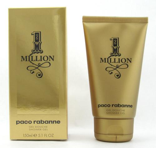 1 Million by Paco Rabanne Shower Gel for Men 150 ml./ 5.1 oz. New Box Sealed