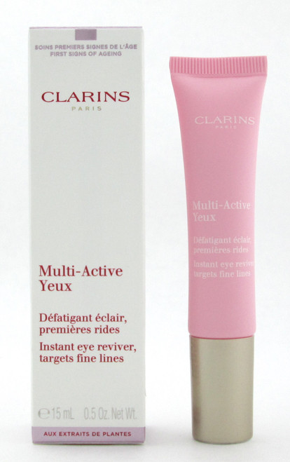 Clarins Multi Active Yeux Instant Eye Reviver 15 ml/ 0.5 oz New In Box
