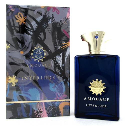 Interlude Cologne by Amouage 3.4 oz./100 ml. EDP Spray for Men. New in Box.