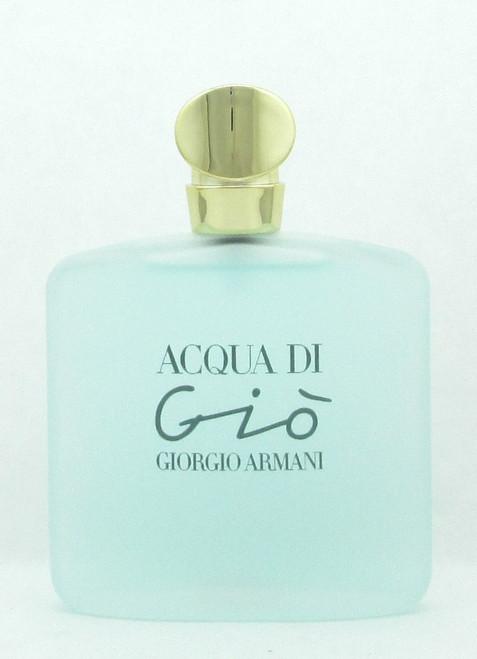 Acqua Di Gio by Giorgio Armani Eau de Toilette Spray for Women 100 ml./ 3.4 oz. NO BOX
