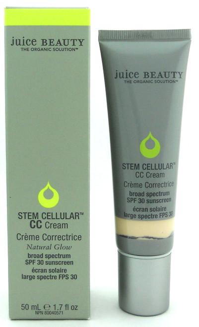 Juice Beauty Stem Cellular CC Cream SPF 30 Natural Glow 50 ml./ 1.7 oz. New in Box