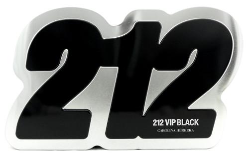 212 VIP BLACK by Carolina Herrera Set for Men 3.4 oz EDP Spray+Shower Gel 3.4 oz