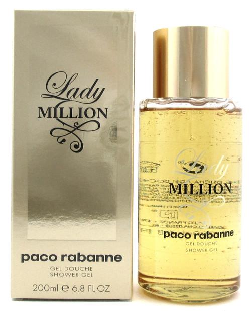 Lady Million by Paco Rabanne 6.8 oz./200 ml. Shower Gel for Women. Sealed