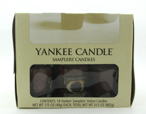 Yankee Candle Cappuccino Truffle Scent Lot of 18 Votive Candles New in Box