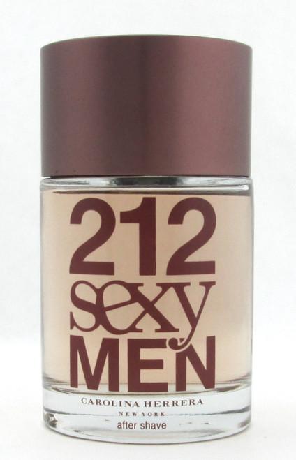 212 SEXY MEN by Carolina Herrera After Shave Lotion 3.4 oz Splash NO BOX