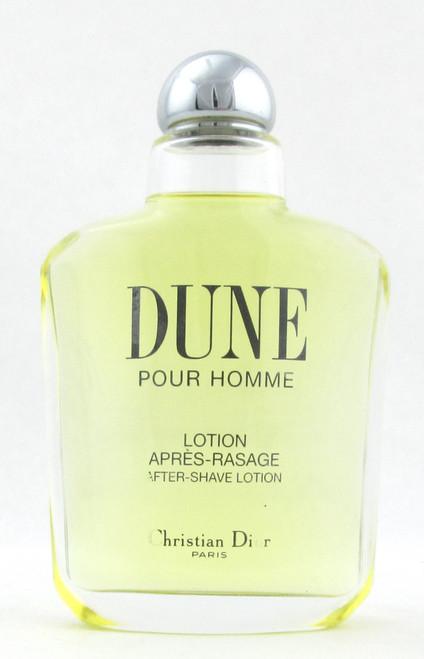 Dune Pour Homme After Shave Lotion Splash 3.4 oz/ 100 ml. New NO BOX