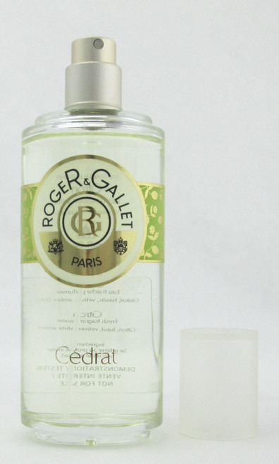 R & G Cedrat Fragrant Water Spray 100 ml./ 3.4 oz. Tester no Top