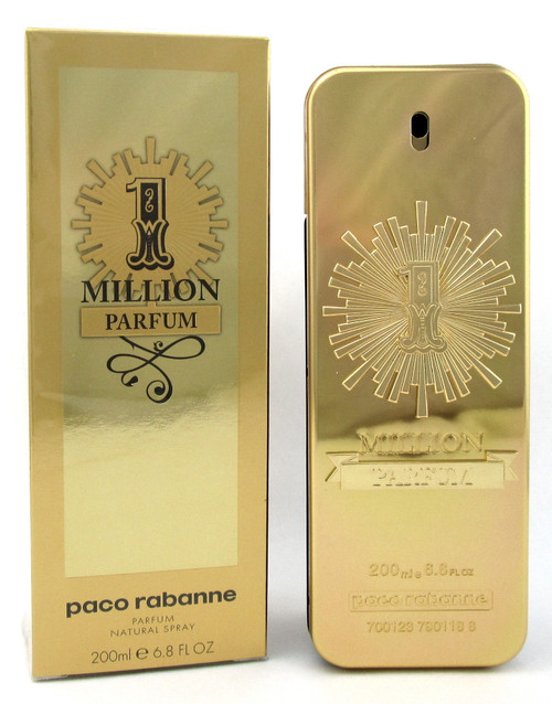 1 Million Cologne by Paco Rabanne 6.8 oz. PARFUM Spray for Men. New Sealed Box