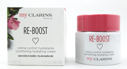 Clarins My Clarins Re-Boost Comforting Hydrating Cream Dry/Sensitive Skin 50 ml./  1.7 oz. New