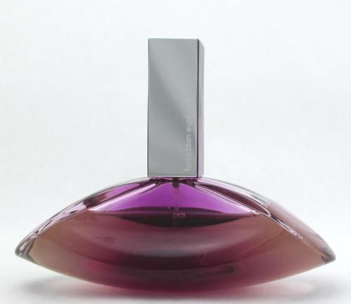 Forbidden Euphoria by Calvin Klein Eau De Parfum Spray 3.4 oz. LOWFILL Bottle NO BOX