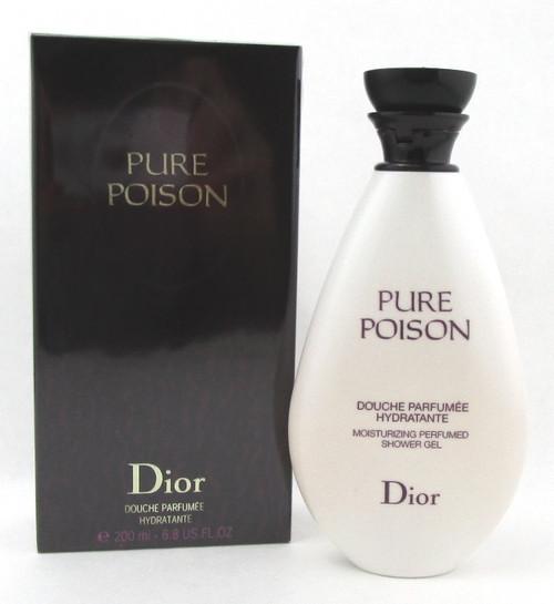 Pure Poison by Christian Dior 6.8 oz. Moisturizing Perfumed Shower Gel. Sealed