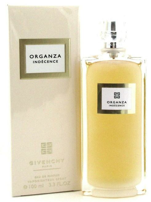 Organza Indecence Perfume by Givenchy 3.3 oz. EDP Spray for Women. Brand new in Damaged Box