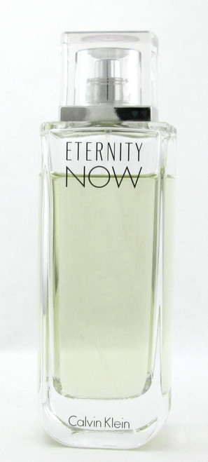 Eternity Now by Calvin Klein Eau de Parfum Spray for Women 3.4 oz. LOWFILL BOTTLE NO BOX