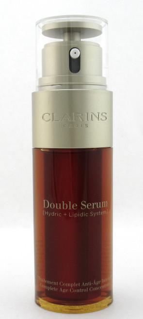 Clarins Double Serum Complete Age Control Concentrate 1.6 oz. New Formula NO BOX