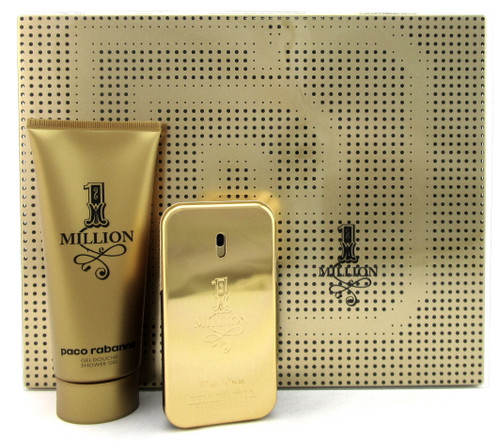 1 Million by Paco Rabanne 1.7 oz. EDT Spray + 3.4 oz. Sh/Gel. New SET Metal Box.