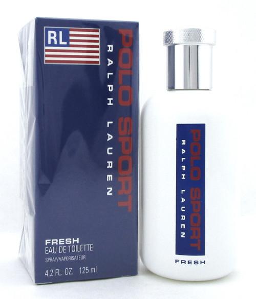 Polo Sport by Ralph Lauren 4.2 oz. FRESH EDT Spray for Men. New Sealed Box