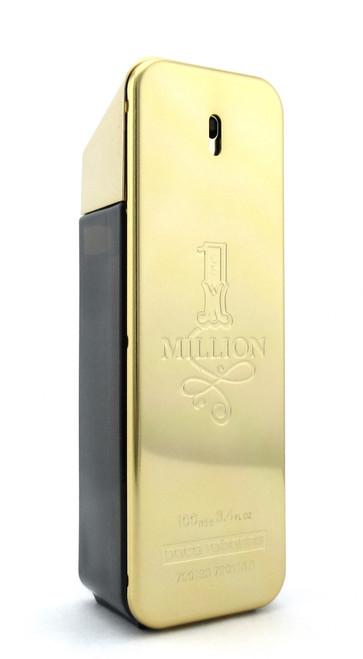 1 Million by Paco Rabanne EDT Spray for Men 3.4 oz./ 100 ml. Tester LOWFILL Bottle NO BOX