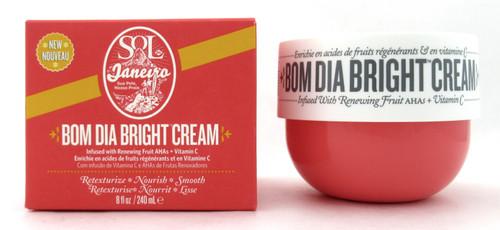 Sol De Janeiro Bom Dia Bright Cream 8 oz./ 240 ml. New In Box