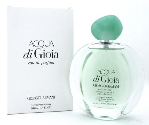 Acqua Di Gioia by Giorgio Armani 3.4 oz. Eau de Parfum Spray for Women. New Tester with Cap