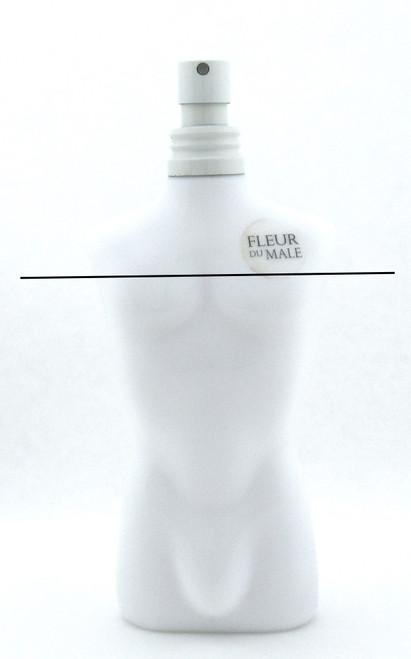 Jean Paul Gaultier Fleur Du Male Eau de Toilette Spray for Men 4.2 oz. Tester LOWFILL Bottle NO BOX