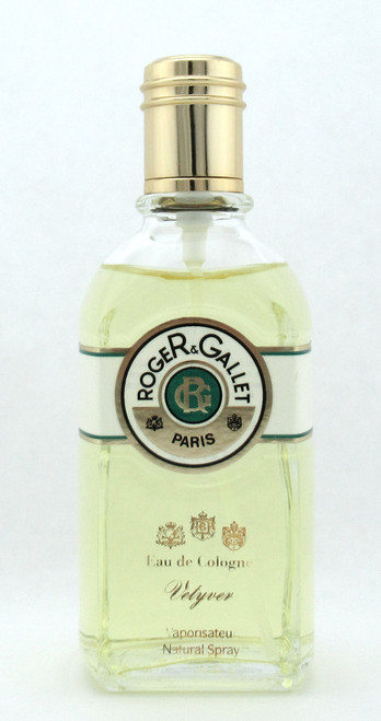 Vetyver by Roger & Gallet for Men Eau De Cologne Spray 100 ml./ 3.4 oz. NO BOX