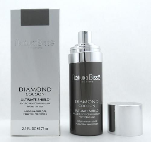 Natura Bisse Diamond Cocoon Ultimate Shield Protective Mist 2.5 oz./ 75 ml. Brand New