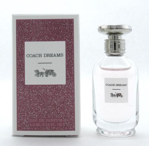 Coach Dreams by Coach 0.15 oz./ 4.5 ml. EDP Splash Mini for Women New In Box