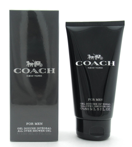 Coach for Men by Coach All Over Shower Gel 5 oz./ 150 ml. New Sealed Box