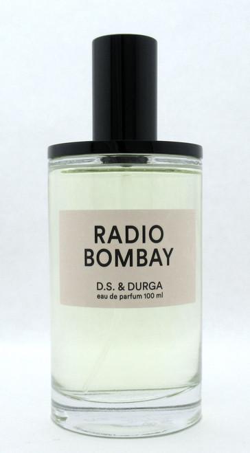 D.S. & Durga Radio Bombay 3.4 oz./ 100 ml. Eau De Parfum Spray for Unisex NO BOX
