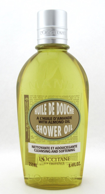 L'Occitane Almond Cleansing & Softening Shower Oil 250 ml./ 8.4 oz. New