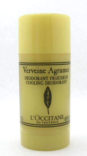 L'Occitane Verveine Agrumes Cooling Deodorant 50 g./ 1.7 oz. NEW NO Box