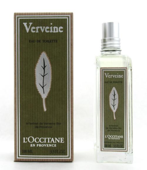 L'OCCITANE Verbena Eau de Toilette Spray 100 ml./ 3.3 oz. NEW In Box