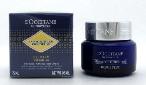 L'Occitane Immortelle Precieuse Eye Balm Energizing 15 ml./ 0.5 oz. New Sealed