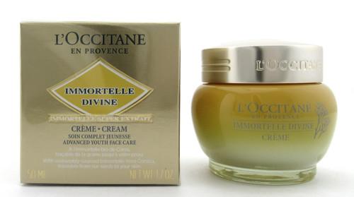 L'Occitane Immortelle Divine Cream 50 ml./ 1.7 oz. New Sealed