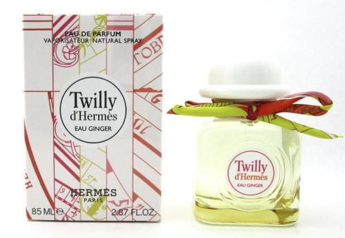 Twilly d'Hermes EAU GINGER by Hermes 2.87 oz EDP Spray for Women.New DAMAGED Box