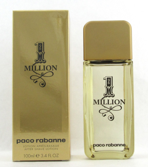 1 Million by Paco Rabanne After Shave Lotion for Men 3.4 oz./100 ml. New
