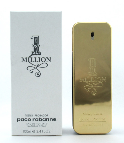 1 Million by Paco Rabanne EDT Spray for Men 3.4 oz./ 100 ml. New Tester