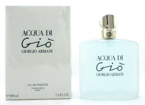 Acqua Di Gio by Giorgio Armani 3.4 oz Eau de Toilette Spray for Women New In Box