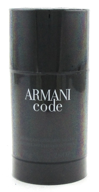 Armani Code by Giorgio Armani  2.6 oz. Alcohol Free Deodorant Stick for Men. New and Sealed