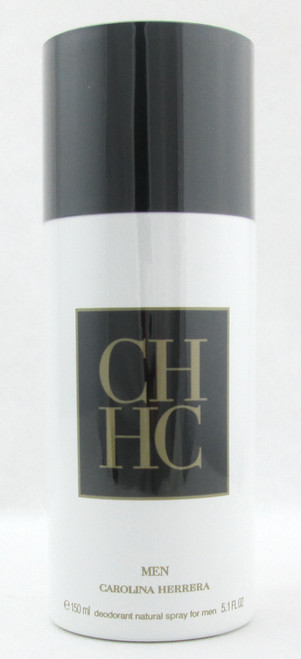 CH MEN by Carolina Herrera Deodorant Spray 5.1 oz./ 150 ml. Brand New