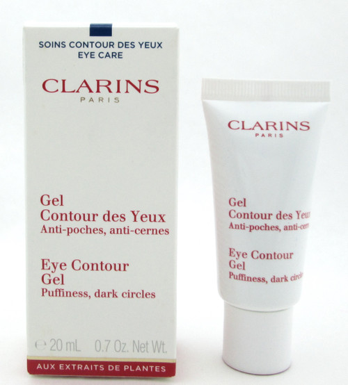 Clarins Eye Contour Gel Puffiness, Dark Circles 20 ml./ 0.7 oz. New In Box