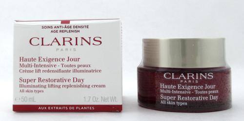 Clarins Super Restorative Day Cream All Skin Types 1.7 oz. Damaged Box