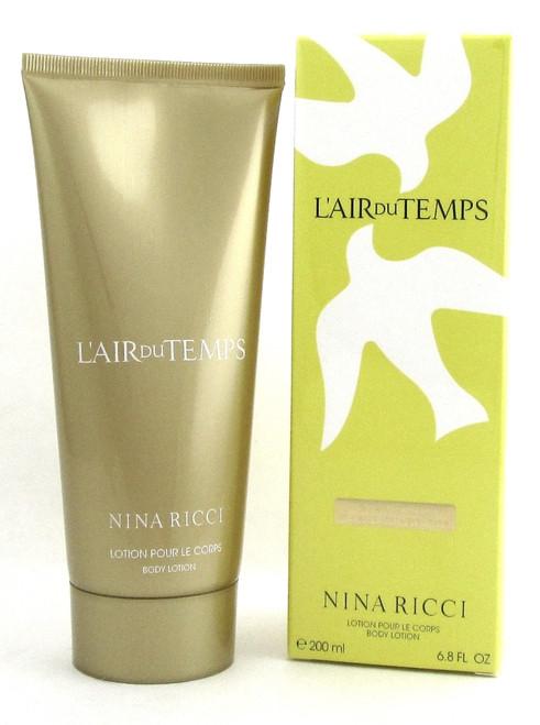 L'Air Du Temps by Nina Ricci Body Lotion for Women 200 ml./ 6.8 oz. New