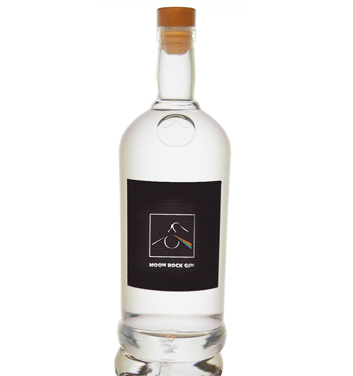 Moon Rock  Gin - 70cl - Distilled with Moon Rock