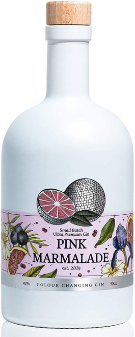 Pink Marmalade Colour Changing Gin 50 cl – Premium,